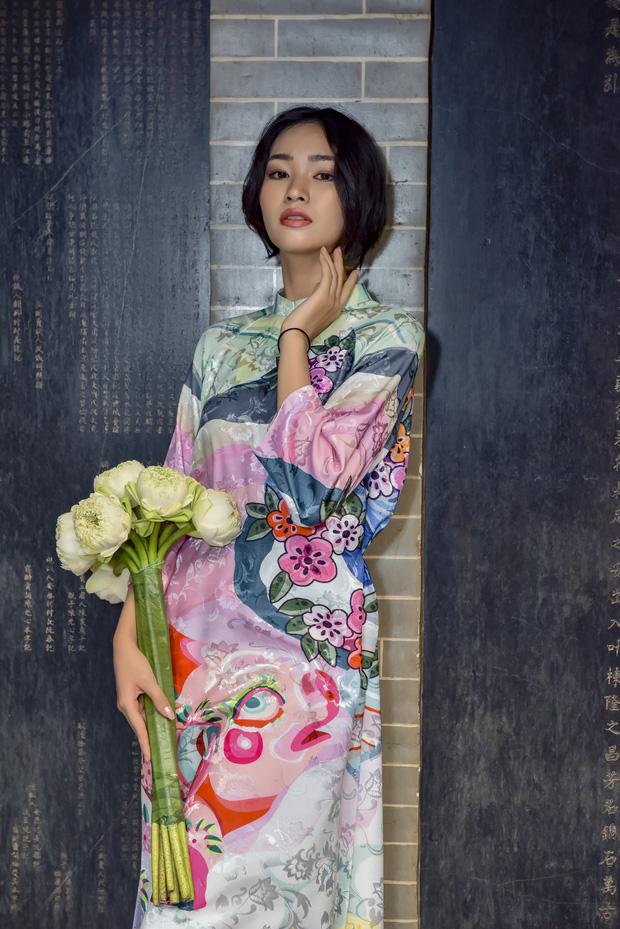 Dàn thí sinh Vietnams Next Top Model mùa 9 ấn tượng trong shoot hình Tết 2020! - Ảnh 9.
