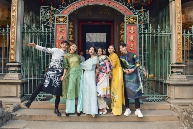 Dàn thí sinh Vietnams Next Top Model mùa 9 ấn tượng trong shoot hình Tết 2020! - Ảnh 2.