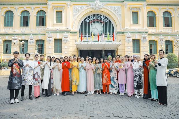 Dàn thí sinh Vietnams Next Top Model mùa 9 ấn tượng trong shoot hình Tết 2020! - Ảnh 1.