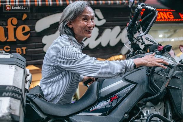 Đầu xuân, gặp cụ ông 66 tuổi đi xe máy qua 39 quốc gia, 40 vùng lãnh thổ: Vì tôi mơ mộng về cái thời trai trẻ mà tất cả chúng ta ai cũng từng có - Ảnh 4.