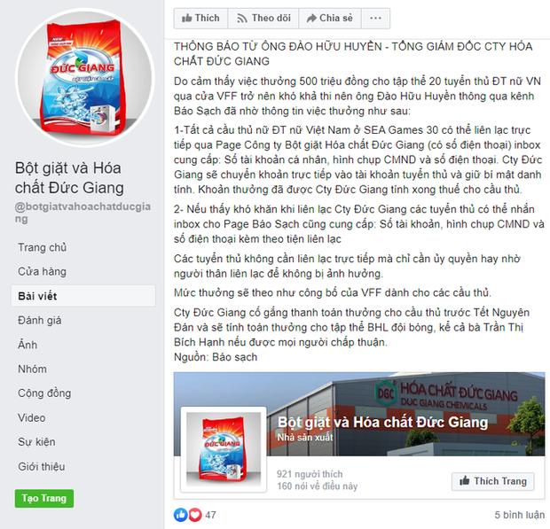 HLV tuyển nữ Việt Nam lý giải vụ cầu thủ tự liên hệ với nhà tài trợ để xin tiền thưởng - Ảnh 1.