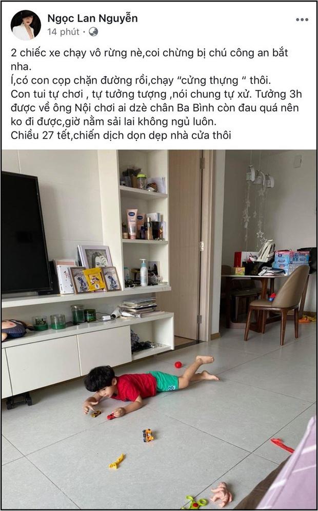 Ngọc Lan hiếm hoi nhắc tên Thanh Bình trên MXH, chứng minh mối quan hệ hậu ly hôn - Ảnh 1.