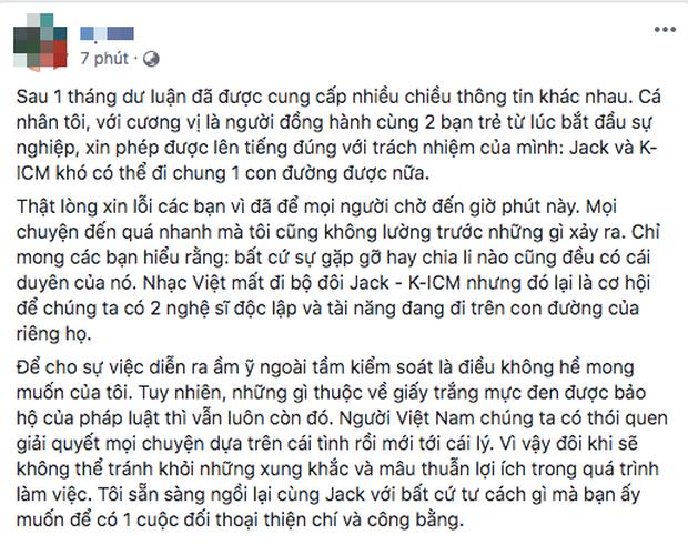 Netizen tinh ý nhận ra mẹ nuôi lần đầu đặt tên Jack lên trước K-ICM, tiếp tục mỉa mai tiêu cực trước chia sẻ mới! - Ảnh 1.