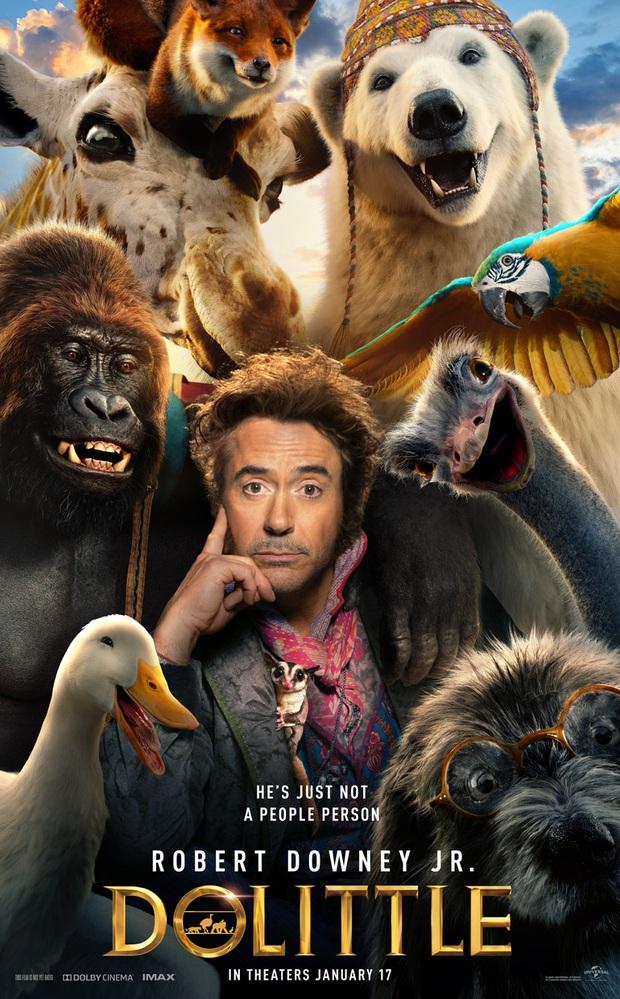 Dolittle - phim tái xuất của Iron Man Robert Downey Jr. có thể lỗ đến trăm triệu đô? - Ảnh 2.