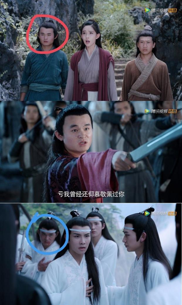 Loạt sạn ngớ ngẩn của 5 bom tấn truyền hình Hoa Ngữ: Một diễn viên phải đóng thế đến tận 3 vai ở Trần Tình Lệnh - Ảnh 21.