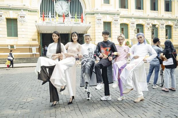 Dàn thí sinh Vietnams Next Top Model mùa 9 ấn tượng trong shoot hình Tết 2020! - Ảnh 10.