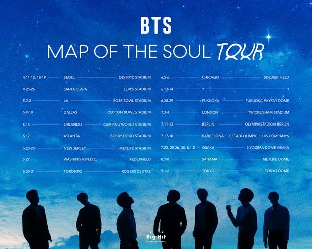BTS thông báo lịch trình World Tour Map Of The Soul bỏ ngỏ đúng 1 địa điểm, Đông Nam Á liệu sẽ có cơ hội hay lại... ra chuồng gà? - Ảnh 1.