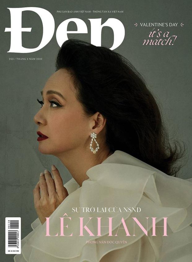 Nghệ sĩ Lê Khanh gây bão với bộ hình trở lại sau 20 năm, nhan sắc đến giờ vẫn đủ khiến hội mỹ nhân hậu bối phải dè chừng - Ảnh 1.
