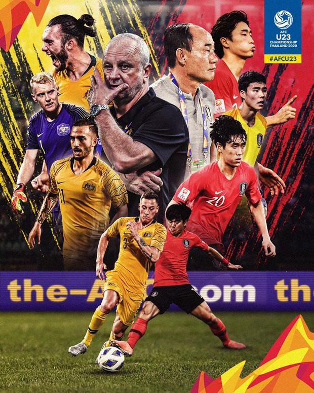 [Cập nhật bán kết U23 châu Á 2020] Australia vs Hàn Quốc: Chờ dàn hot boy xứ kim chi phô diễn sức mạnh - Ảnh 1.