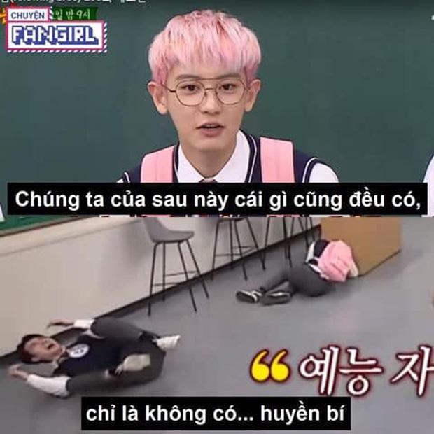Đẹp trai lồng lộn nhưng mỗi lần đi show là Sehun (EXO) lại tặng fan cả rổ meme! - Ảnh 12.