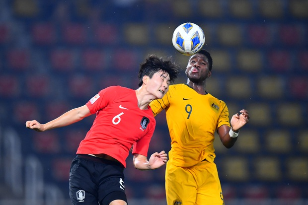 U23 Australia 0-2 U23 Hàn Quốc: Siêu dự bị tỏa sáng, dàn hot boy xứ sở kim chi dễ dàng giành vé vào chung kết - Ảnh 7.