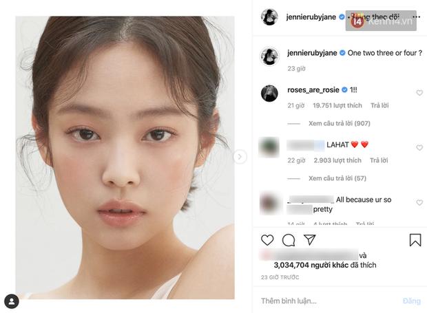 Jennie xinh đẹp mơn mởn với kiểu makeup quả đào khiến Rosé, Trà Long, Khánh Linh phải xuýt xoa - Ảnh 3.