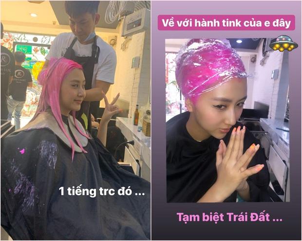 """Sao Việt tranh thủ Tết nhất sát sàn sạt để đi đổi tóc: Người an toàn, người lại """"lồng lộn"""" hết sức - Ảnh 1."""