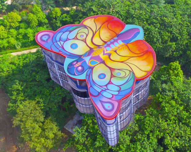 Cánh bướm – Tòa nhà siêu độc đáo tại Việt Nam - Ảnh 2.