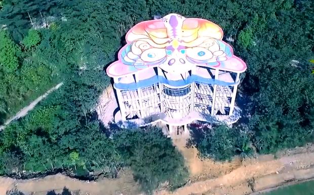Cánh bướm – Tòa nhà siêu độc đáo tại Việt Nam - Ảnh 4.