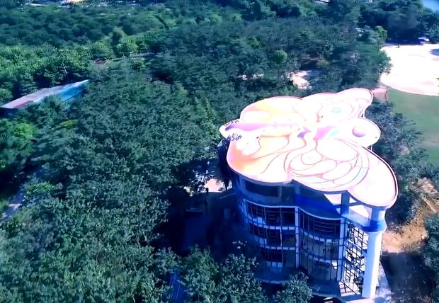 Cánh bướm – Tòa nhà siêu độc đáo tại Việt Nam - Ảnh 5.