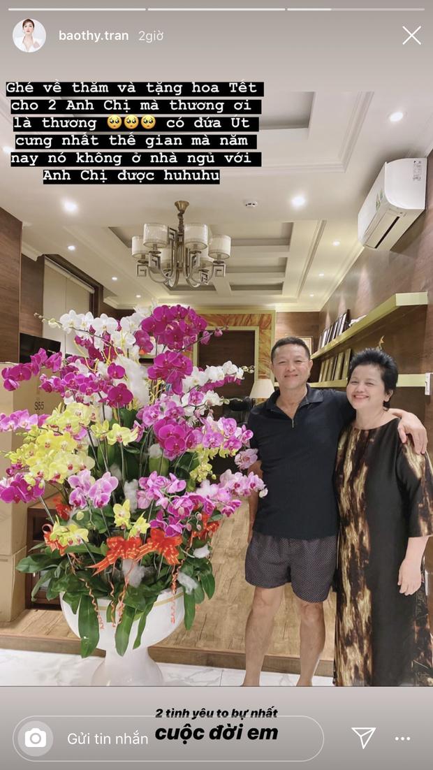 Không khí đón Tết của dàn mỹ nhân năm đầu về nhà chồng: Đàm Thu Trang quá chu đáo, Bảo Thy còn bịn rịn khi về thăm bố mẹ  - Ảnh 1.