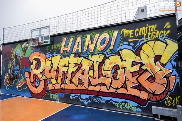 HOT: Hé lộ những hình ảnh về sân bóng rổ trên cao đầu tiên tại Việt Nam - Ảnh 3.