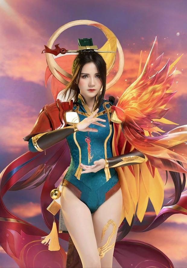 Liên Quân Mobile: Trang phục Tết Canh Tý Butterfly Phượng Cửu Thiên có bộ cosplay xinh đẹp tựa thiên thần, ngắm mãi chẳng chán! - Ảnh 7.