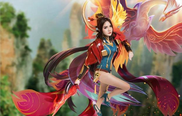 Liên Quân Mobile: Trang phục Tết Canh Tý Butterfly Phượng Cửu Thiên có bộ cosplay xinh đẹp tựa thiên thần, ngắm mãi chẳng chán! - Ảnh 8.