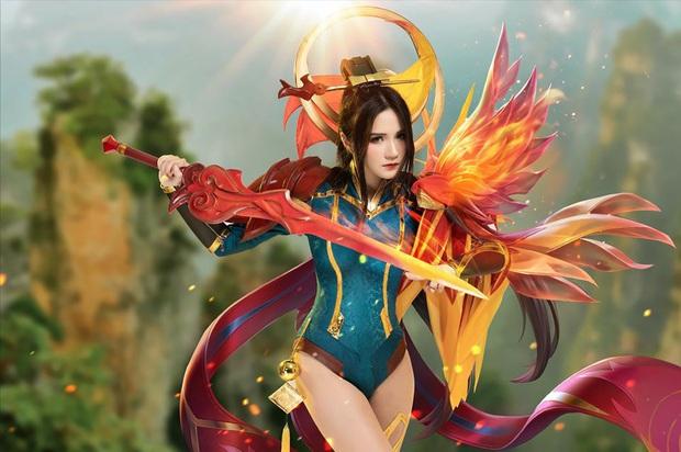 Liên Quân Mobile: Trang phục Tết Canh Tý Butterfly Phượng Cửu Thiên có bộ cosplay xinh đẹp tựa thiên thần, ngắm mãi chẳng chán! - Ảnh 3.