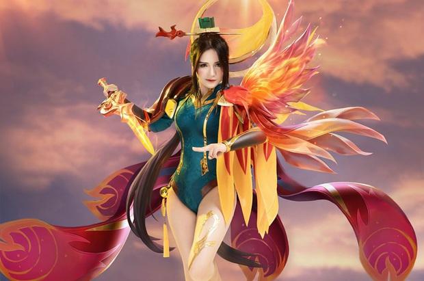 Liên Quân Mobile: Trang phục Tết Canh Tý Butterfly Phượng Cửu Thiên có bộ cosplay xinh đẹp tựa thiên thần, ngắm mãi chẳng chán! - Ảnh 1.