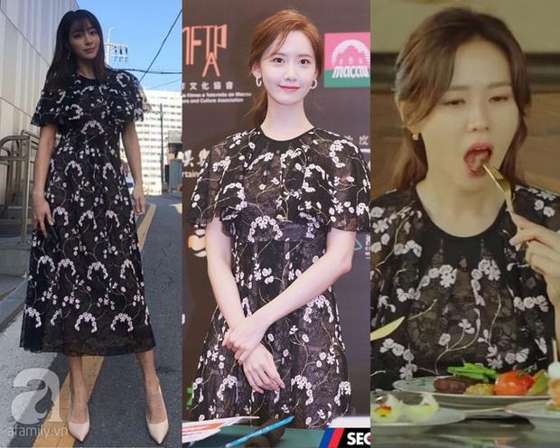 Bà xã Lee Byung Hun chụp ảnh thiếu sáng mà vẫn đẹp ngang ngửa Yoona, Son Ye Jin khi đụng váy - Ảnh 5.