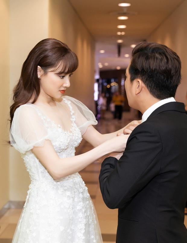 Nhìn Nhã Phương mặc lại váy đính hôn mới thấy: 2 năm đã qua mà nhan sắc vẫn đẹp như ngày nào - Ảnh 2.