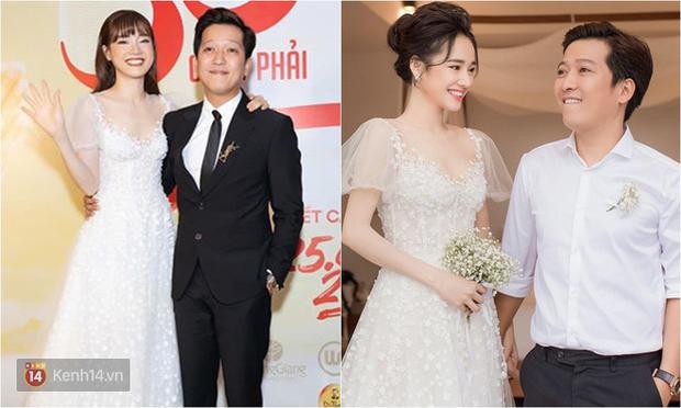Nhìn Nhã Phương mặc lại váy đính hôn mới thấy: 2 năm đã qua mà nhan sắc vẫn đẹp như ngày nào - Ảnh 6.