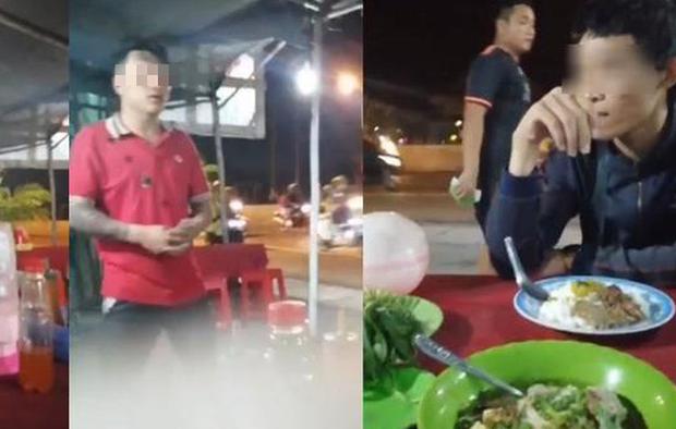Chủ quán ở Long An bị tố chặt chém dĩa cơm và tô hủ tiếu giá 500 nghìn, còn hành hung khách - Ảnh 1.