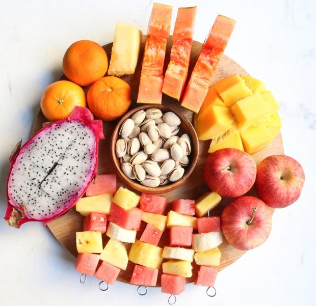 Chuyên gia tư vấn dinh dưỡng Emma Phạm gợi ý 10 mâm hoa quả, bánh kẹo ăn Tết vừa healthy vừa bổ dưỡng - Ảnh 8.
