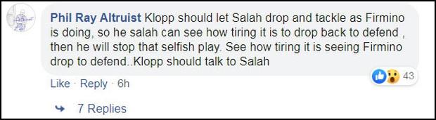 """""""Vua Ai Cập"""" Salah bị CĐV Liverpool """"ném đá"""" tơi bời dù đội nhà giành chiến thắng hú vía - Ảnh 8."""