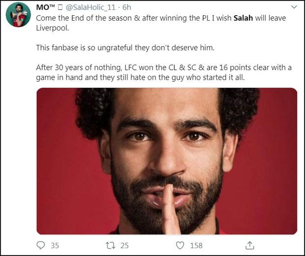 """""""Vua Ai Cập"""" Salah bị CĐV Liverpool """"ném đá"""" tơi bời dù đội nhà giành chiến thắng hú vía - Ảnh 10."""