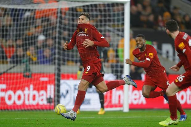 Xé lưới Wolves ở những phút cuối cùng, Firmino giúp Liverpool giữ vững ngôi đầu bảng Ngoại hạng Anh - Ảnh 7.