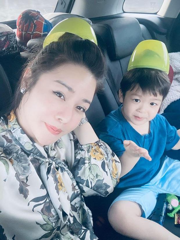 Vừa được gặp con trai sau nhiều ngày xa cách, Nhật Kim Anh lại tung tin nhắn tố chồng cũ cản trở chuyện thăm bé dịp Tết - Ảnh 3.