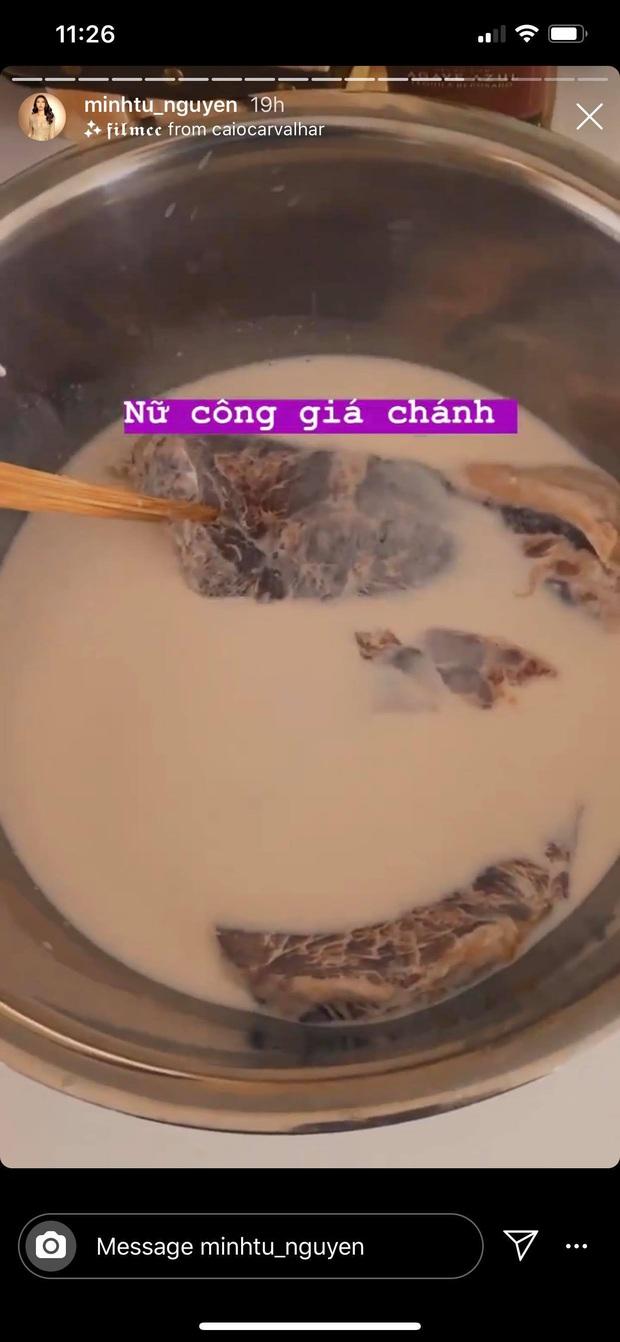Sao Việt dành cả cái Tết này để làm gì: nếu không ăn uống tơi bời thì cũng là để... nấu ăn và làm nữ công gia chánh - Ảnh 7.