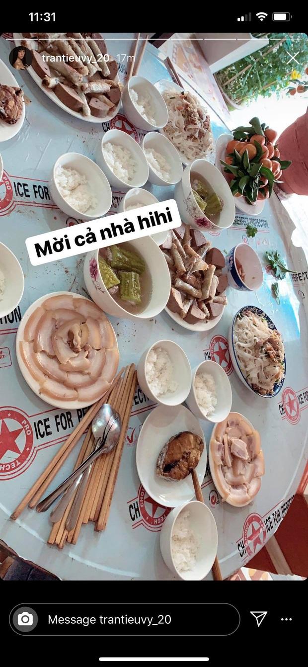 Sao Việt dành cả cái Tết này để làm gì: nếu không ăn uống tơi bời thì cũng là để... nấu ăn và làm nữ công gia chánh - Ảnh 11.