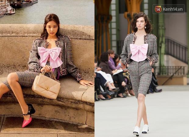 """Pha đụng hàng 30 Tết: Chi Pu diện áo nơ giống Jennie, Phượng Chanel nhưng mix đồ """"cute hột me"""" quá mức quy định - Ảnh 2."""