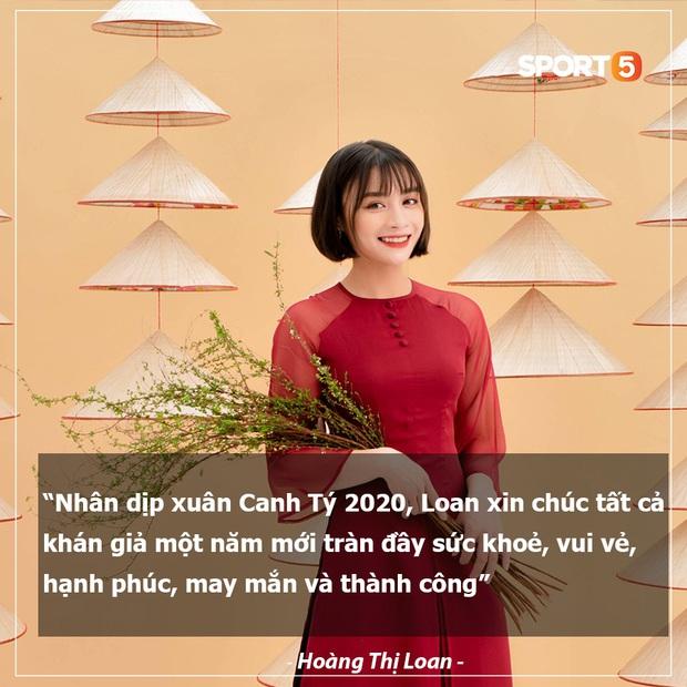 Tuyển thủ bóng đá Việt Nam gửi lời chúc Tết siêu có tâm đến người hâm mộ trước thềm năm mới Canh Tý 2020 - Ảnh 7.