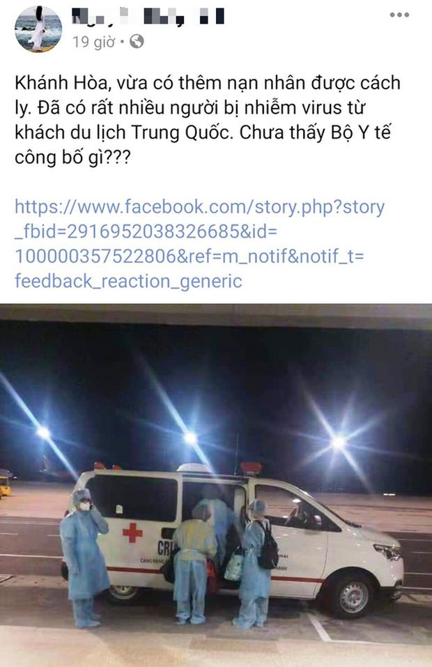 Khách Trung Quốc nhiễm virus Corona ở Khánh Hòa là tin đồn - Ảnh 1.