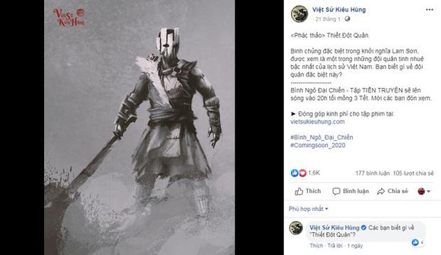 Game thủ bất ngờ với phác thảo Thiết Đột Quân của Việt Sử Kiêu Hùng giống Juggernaut Dota2 tới 99%? - Ảnh 1.