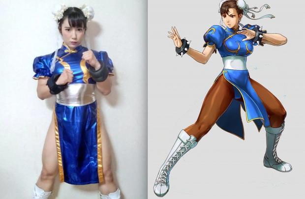 Xịt máu mũi với nữ thần tượng hóa thân thành Chun-Li trong game Street Fighter cực chất! - Ảnh 2.