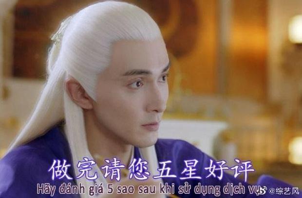 Tình tứ làm nail cho Địch Lệ Nhiệt Ba, Cao Vỹ Quang biến mình thành trò tấu hài cho khán giả Chẩm Thượng Thư - Ảnh 9.