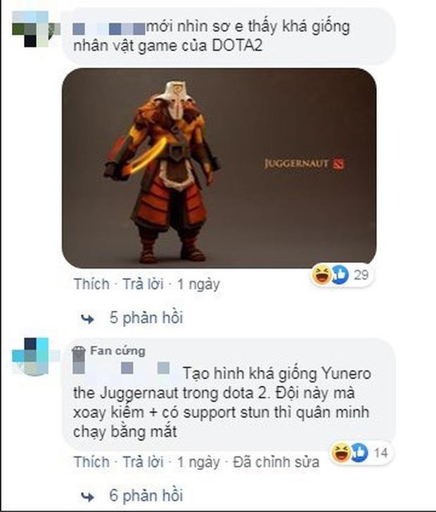Game thủ bất ngờ với phác thảo Thiết Đột Quân của Việt Sử Kiêu Hùng giống Juggernaut Dota2 tới 99%? - Ảnh 3.