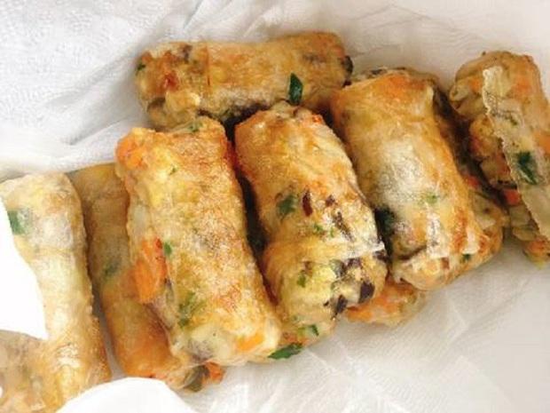 Nem rán - Món ăn truyền thống quen thuộc của Tết nhưng giờ đây có đến chục vị nhân biến tấu - Ảnh 2.