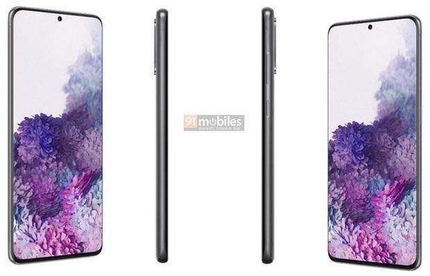 Đây là ảnh dựng chính thức của Galaxy S20, Galaxy S20+ và Galaxy S20 Ultra - Ảnh 4.