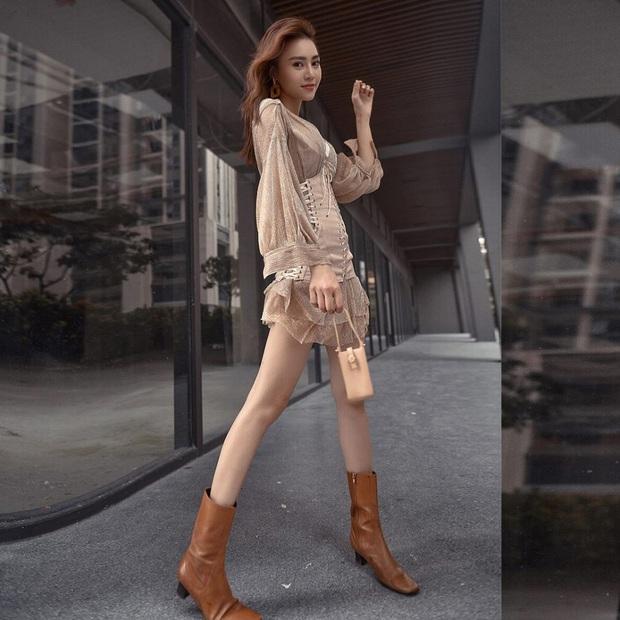 Chiều cao lý tưởng cũng không chủ quan, Lan Ngọc vẫn nhờ cậy đến 3 mẫu giày để kéo chân dài ngoạn mục - Ảnh 5.