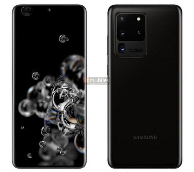 Đây là ảnh dựng chính thức của Galaxy S20, Galaxy S20+ và Galaxy S20 Ultra - Ảnh 7.