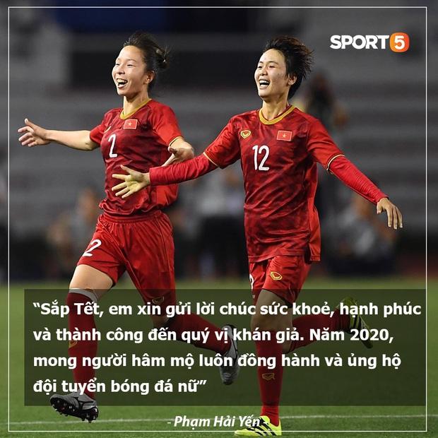 Tuyển thủ bóng đá Việt Nam gửi lời chúc Tết siêu có tâm đến người hâm mộ trước thềm năm mới Canh Tý 2020 - Ảnh 5.