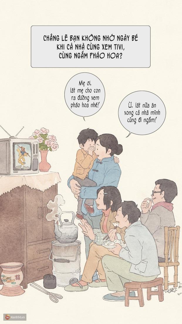 Bộ tranh: Đã về nhà ăn Tết thì hãy dành thời gian bên bố mẹ, tạm tha cho cái điện thoại đi - Ảnh 2.
